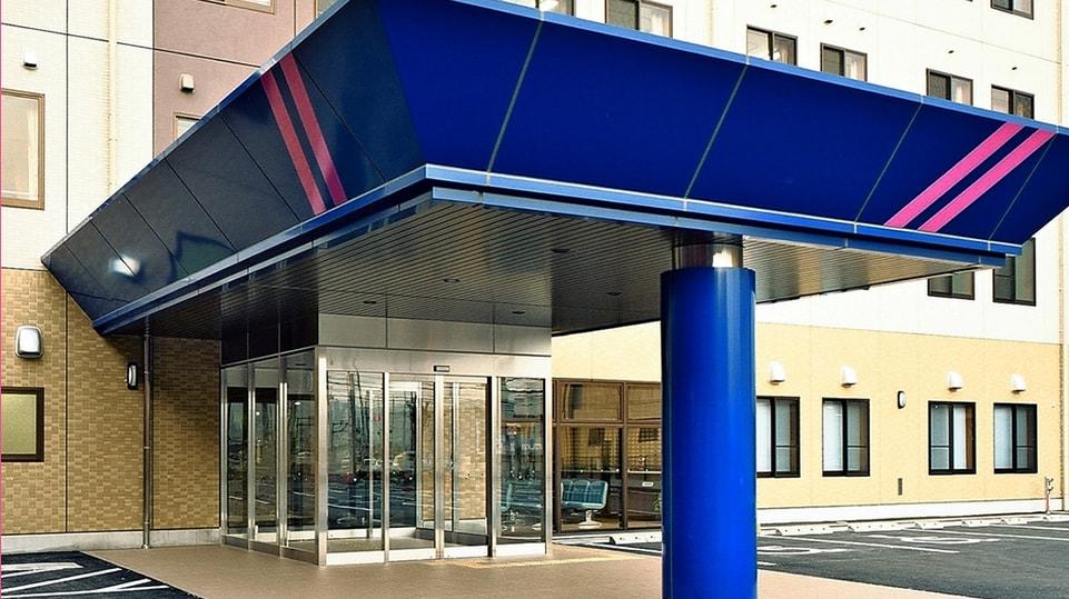 青藍病院の外観